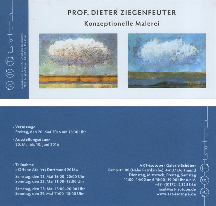 Isotope, Ausstellung , Prof. Dieter Ziegenfeuter