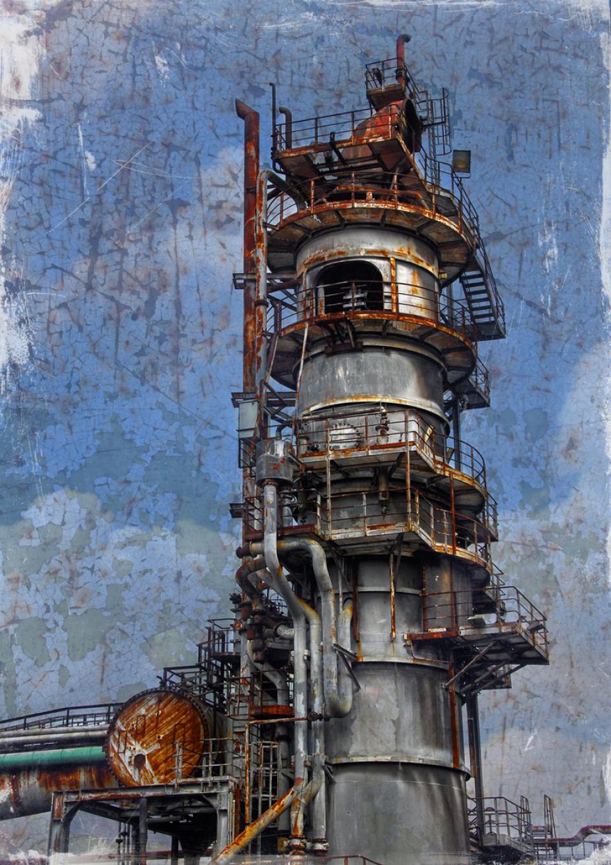 Henrichshütte Winderhitzer, www.ziegenfeuter-artwork.de Dortmund