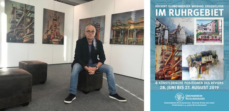 Ruhrgebiet, Fotografie, Illustration, Malerei, Dieter Ziegenfeuter