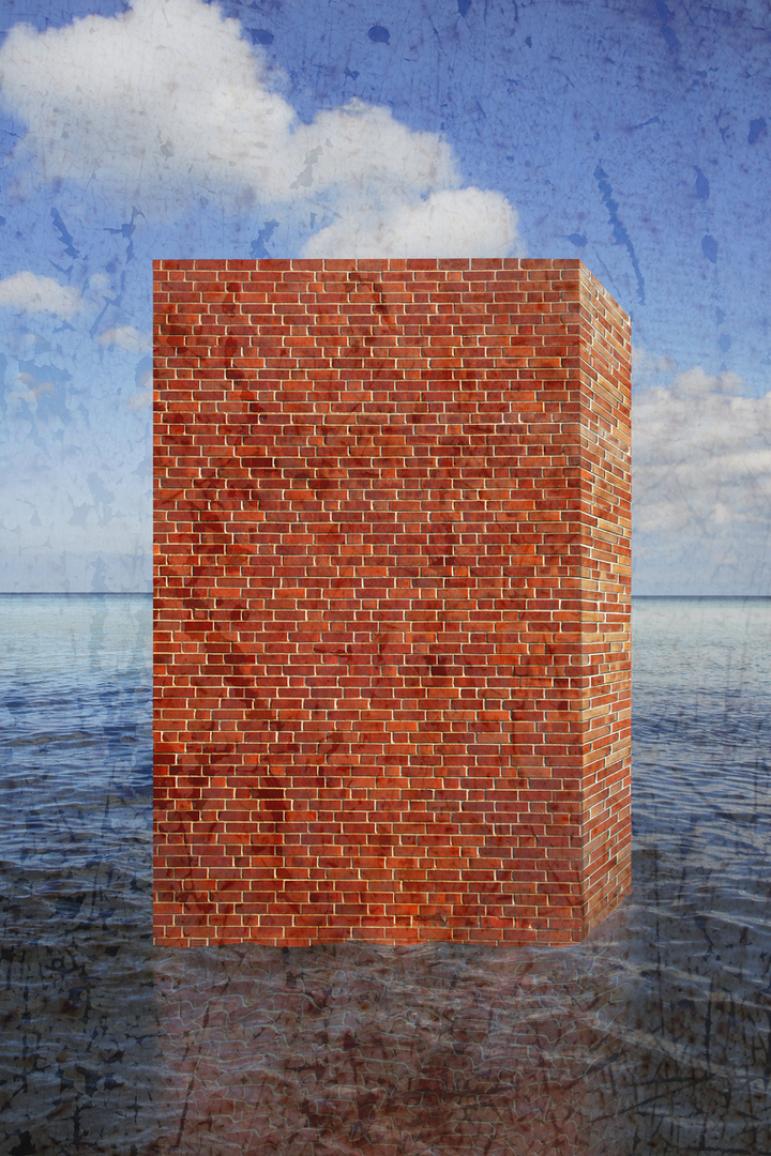 Unterwegs, Mauer, Flucht,