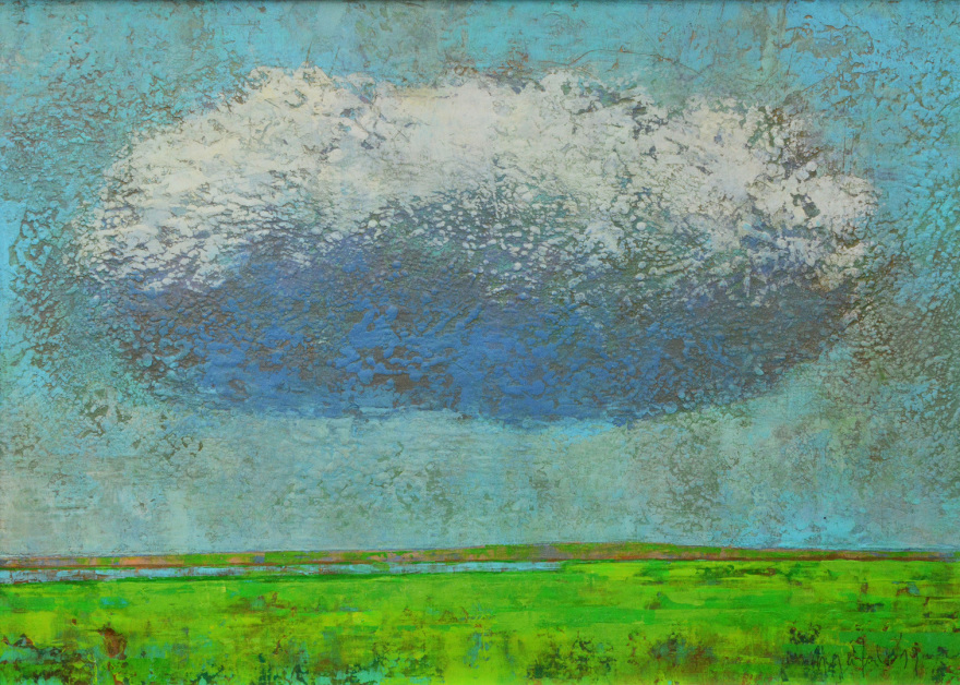 Landschaft, Wolken,  Dieter Ziegenfeuter,